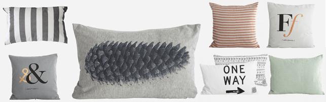 Puder – Valg af sofapude og sengepude