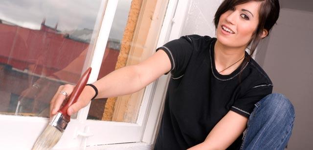 Valg af malerpensler til maling af vinduer og dørkarme