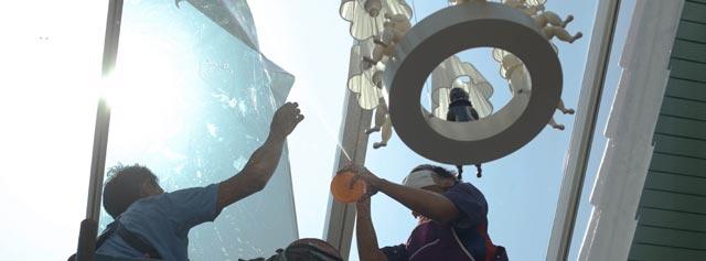 Solfilm – en kreativ måde at skærme af for solen i din bolig